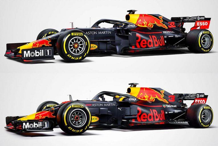 F1 | 【新旧F1マシンスペック比較】レッドブル・ホンダ編:今年も恒例のマットカラー。マシン後部がタイトになったRB15