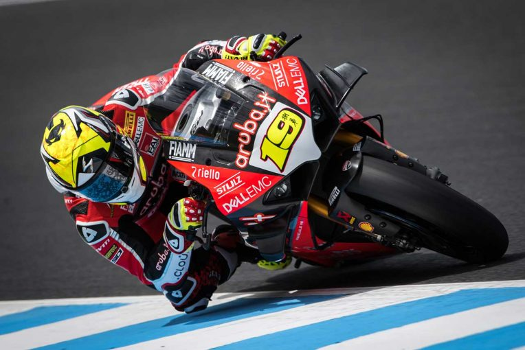 MotoGP | バウティスタ、パニガーレV4 RでSBKフィリップアイランドテスト2日間総合首位。レイは手ごたえの4番手