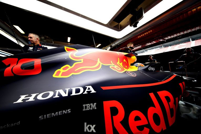 F1 | ホンダPU搭載のレッドブルとトロロッソ、揃ってコースオフも合計224周を周回。「データ設定を順調に進めることができた」と田辺TD