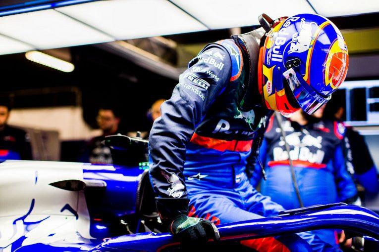F1 | トロロッソ・ホンダのアルボン「初めてF1カーで高速走行。衝撃的な経験だった」