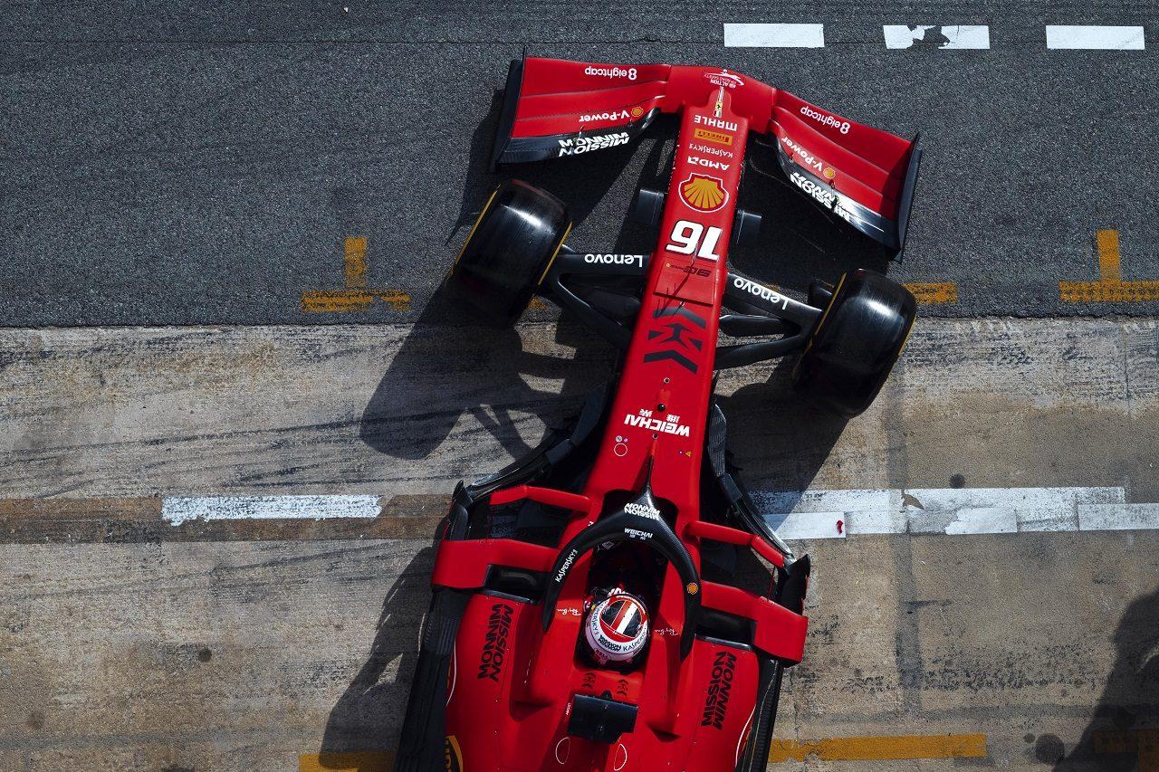 2019年第1回F1テスト2日目 シャルル・ルクレール(フェラーリ)