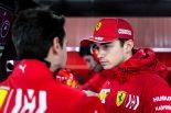 F1 | 好調フェラーリのルクレールが最速。リカルド、ルノーのウイングトラブルで高速スピン/F1テスト1回目デイ2