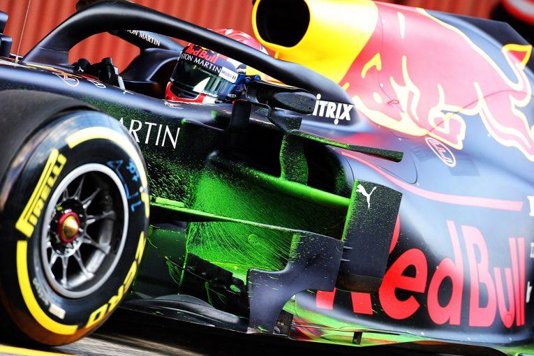 F1 | 【動画】レッドブル・ホンダのガスリーとトロロッソのアルボン、走行初日にスピン