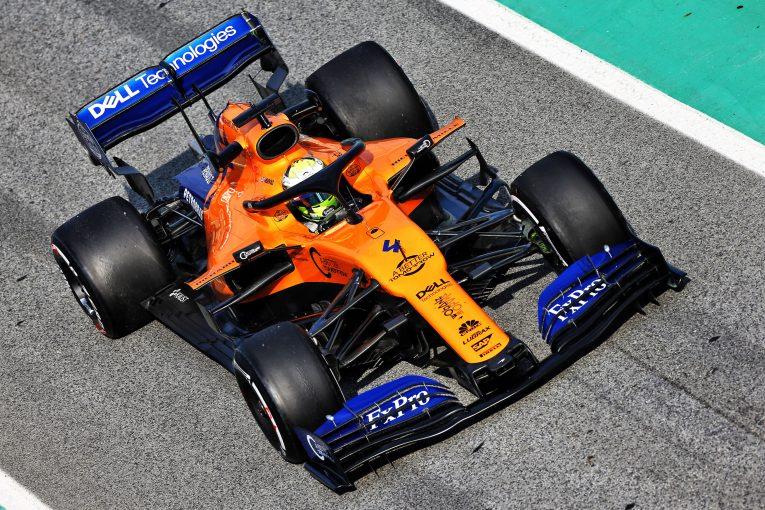 F1 | マクラーレンF1、プレシーズンテスト2日目はノリスが初となるロングランを実施
