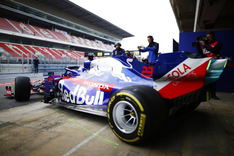 F1 | 「ホンダPUは今日も好調。多数の重要なテストを通して前進できた」とトロロッソ