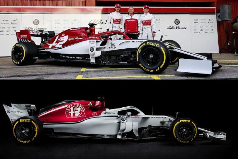 "F1   【新旧F1マシンスペック比較】アルファロメオ編:ライコネンもC38の感触に満足。""ザウバー新時代""のスタートを飾れるか"