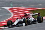 2019年F1バルセロナテスト1回目 キミ・ライコネン アルファロメオC38