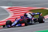 2019年F1バルセロナテスト1回目 ダニール・クビアト トロロッソ・ホンダSTR14