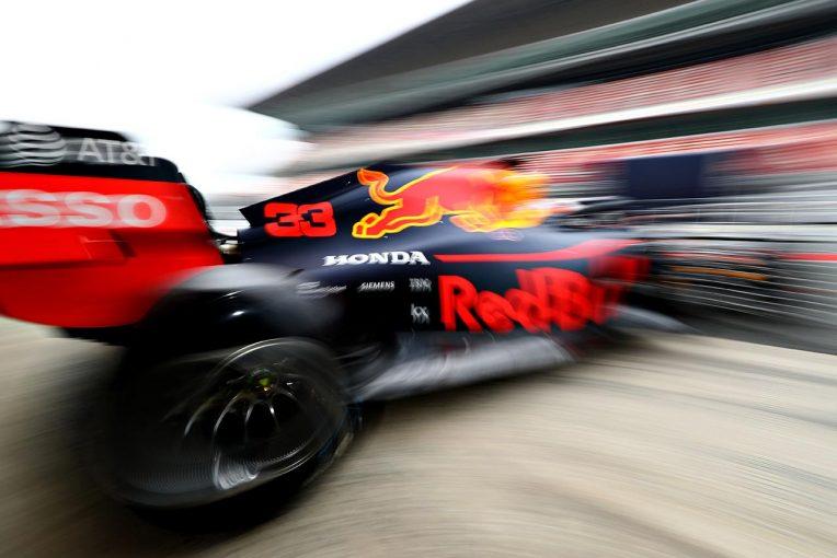 F1 | 【レッドブル密着:テスト3日目】想定外のPU載せ替えも、チーム内は落ち着いた雰囲気。テストプログラムをほぼ完遂