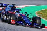 F1 | 【F1テスト1回目デイ4・午前タイム結果】トロロッソ・ホンダのアルボンがトップ、レッドブルのガスリーは7番手