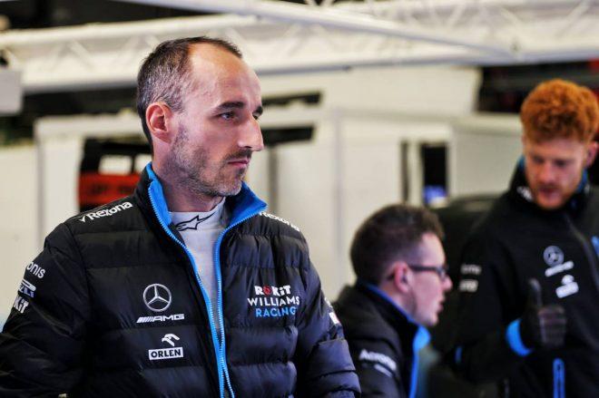 2019年F1バルセロナテスト4日目:ロバート・クビカ(ウイリアムズ)