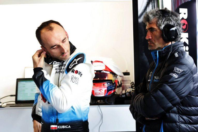 F1 | ウイリアムズFW42で初走行したクビカ「もう少し感触を得たかった。遅れるのがテストだけであることを願うよ」