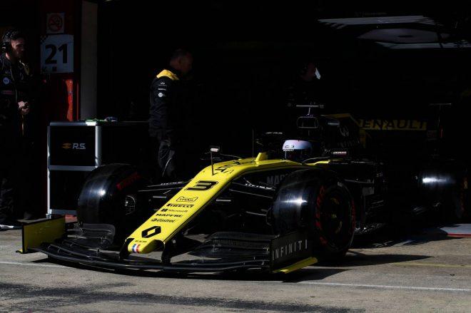 2019年F1バルセロナテスト4日目:ダニエル・リカルド(ルノー)