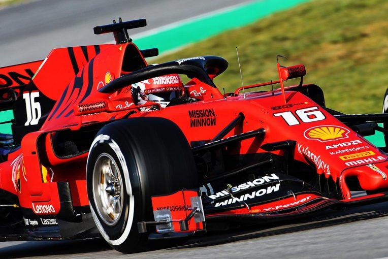 F1 | 早くも好調フェラーリF1を警戒する声に、ルクレールは動じず。「テスト段階のパフォーマンスに意味はない」