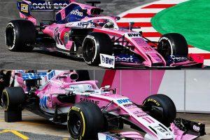 """【新旧F1マシンスペック比較】レーシング・ポイント編:""""コスパ""""重視のRP19。完成度の高いVJM11とパーツを共有"""