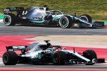 【新旧F1マシンスペック比較】メルセデス編:W10のホイールベースに変更なし。ワークス10年目の節目に記録をねらう