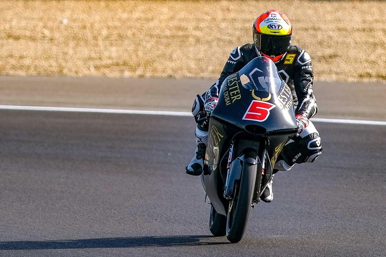 Moto2、Moto3へレス公式テスト最終日はKTMがトップ独占。日本人ライダーは佐々木歩夢が1トップ10圏内維持