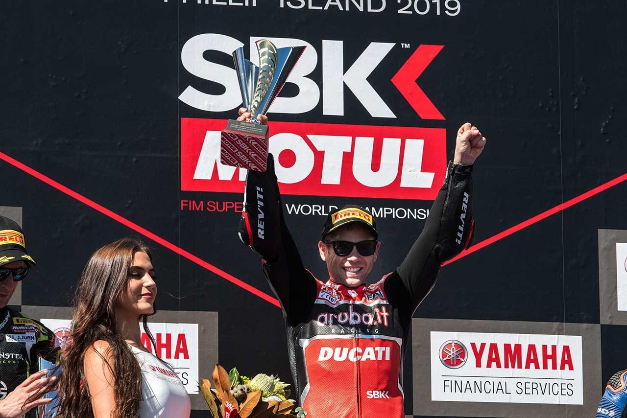 2019年SBK、開幕。レース1はルーキー、バウティスタがパニガーレV4 Rでデビューウインの快挙