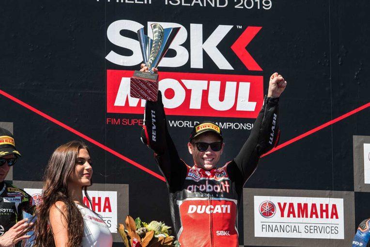 MotoGP | 2019年SBK、開幕。レース1はルーキー、バウティスタがパニガーレV4 Rでデビューウインの快挙
