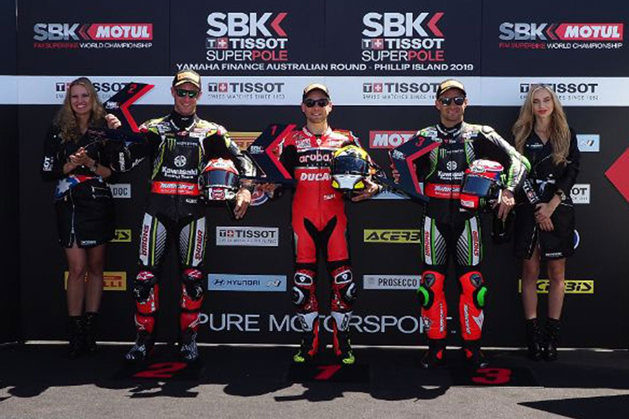 SBK開幕戦オーストラリアはドゥカティのバウティスタが完全勝利。追随許さぬ大量リードでレース2制す