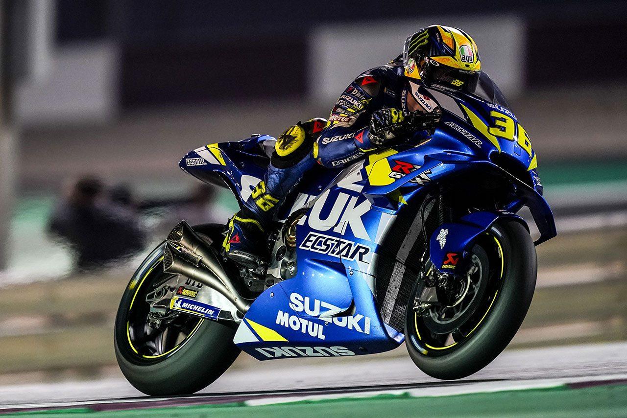 MotoGPカタール公式テスト2日目、スズキのリンスがトップ。初日不振のマルケスは5番手に躍進
