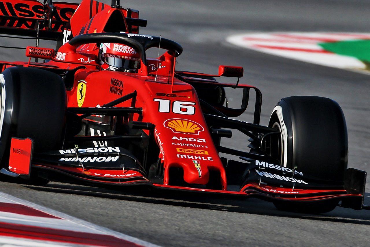 2019年第1回F1テスト シャルル・ルクレール(フェラーリ)