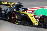 F1 | リカルド、空力規則変更の効果を実感も「感触を掴むのはこれから」。僚友ヒュルケンベルグとは意見別れる