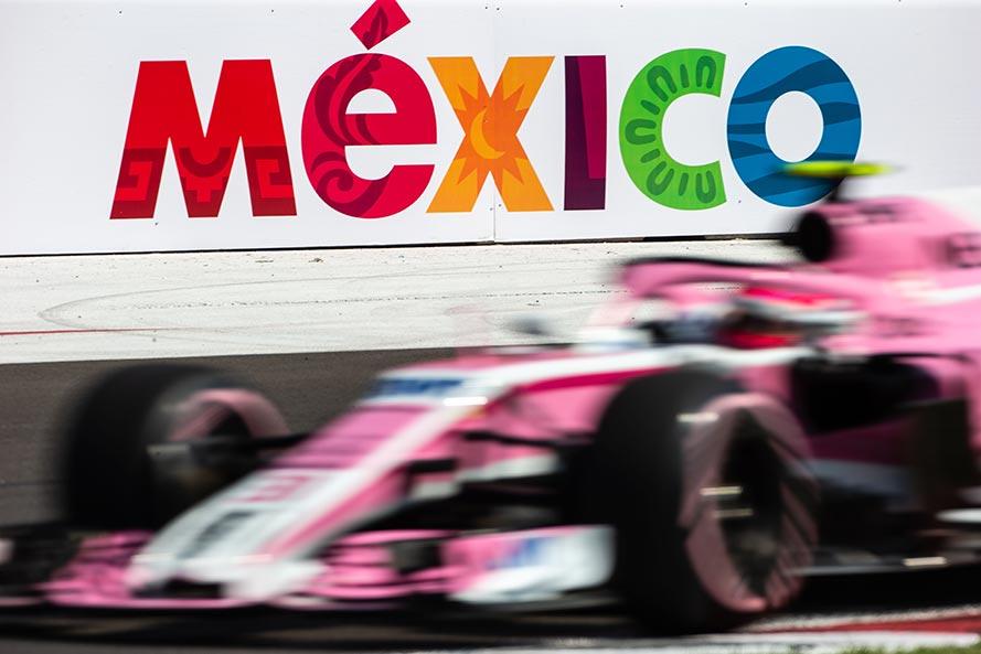 2018年F1第19戦メキシコGP セルジオ・ペレス(レーシング・ポイント・フォース・インディア)