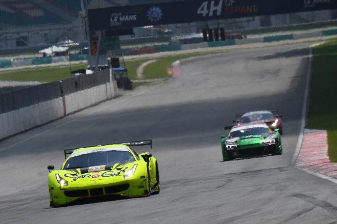 アジアン・ル・マン第4戦セパンを戦うCarGuy Racingのフェラーリ488 GT3