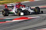 F1   【F1テスト2回目デイ1・午前タイム結果】アルファロメオのジョビナッツィがトップ、レッドブルのガスリーは2番手