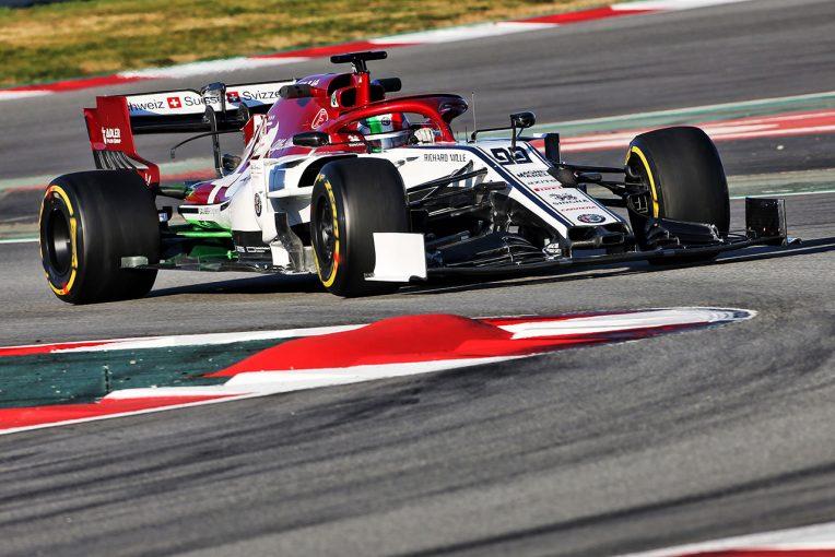 F1 | 【F1テスト2回目デイ1・午前タイム結果】アルファロメオのジョビナッツィがトップ、レッドブルのガスリーは2番手