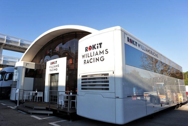 F1 | 【F1ギャラリー】マシンに合わせてモーターホームも新カラーで登場