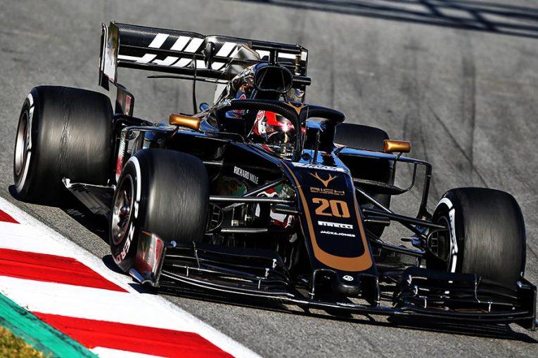 F1 | マグヌッセンもF1の空力新規則に好印象。「他車の後ろを走っても、マシンが全体が安定していた」