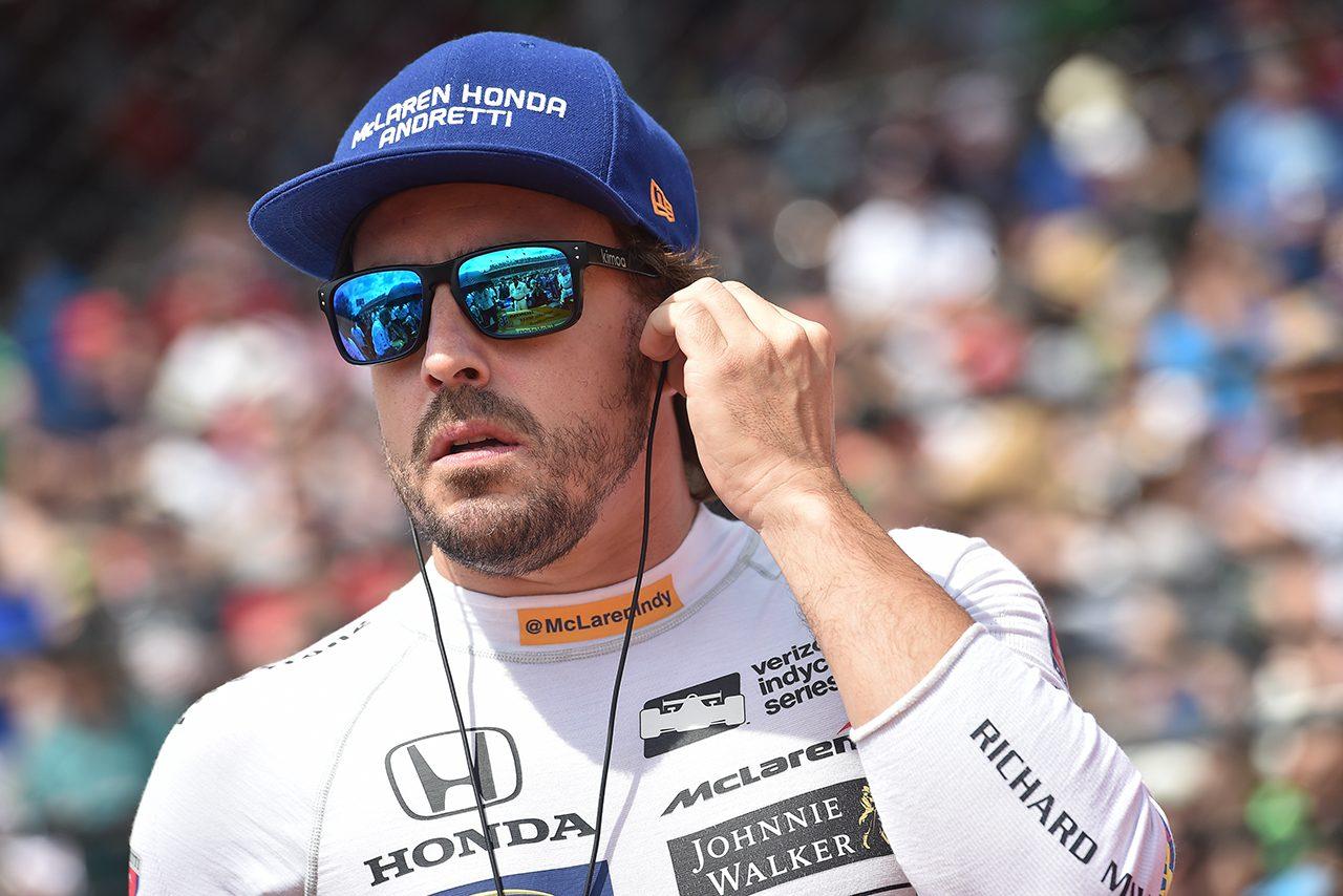 """インディ500参戦のアロンソ。カーナンバーはマクラーレンにとって特別な""""66""""に決定"""
