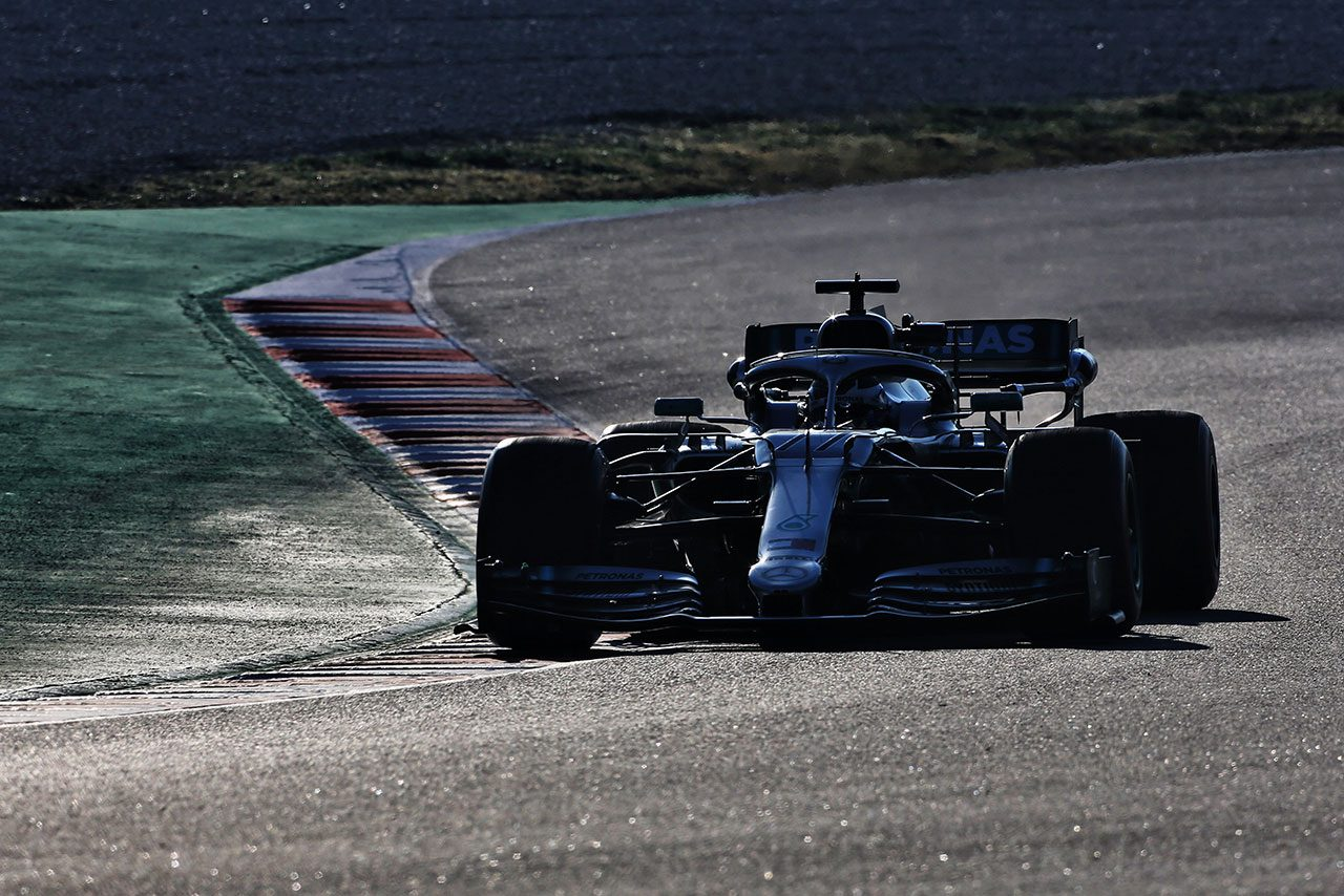 2019年F1バルセロナテスト2回目 バルテリ・ボッタス メルセデスW10