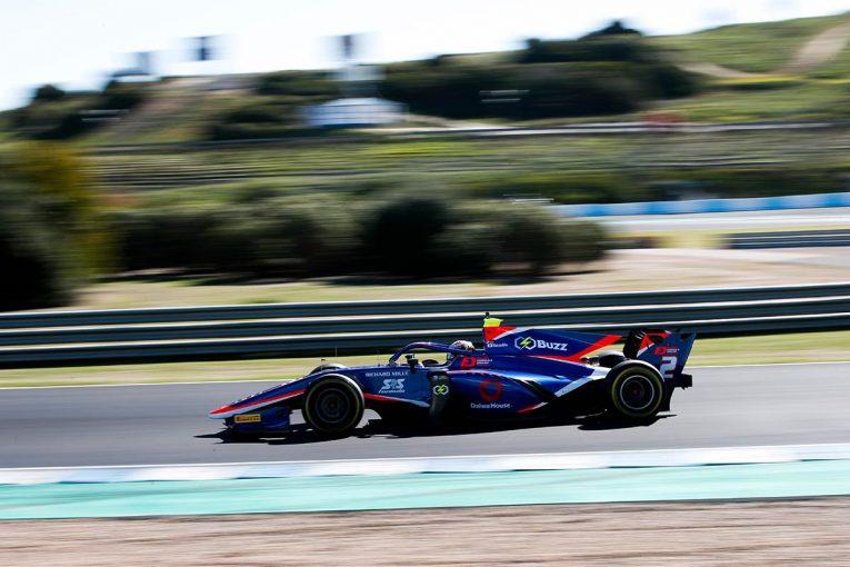 海外レース他 | 【FIA-F2テストデイ1・タイム結果】F2復帰の松下は総合13番手、ミック・シューマッハーは3番手