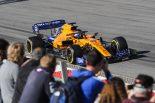F1 | 【F1テスト2回目デイ2・タイム結果】マクラーレンが2日連続首位。レッドブル・ホンダのフェルスタッペン、アクシデントも128周を走行