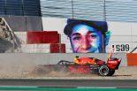 F1 | レッドブル・ホンダF1のフェルスタッペン「完璧な一日ではなかった」。レースシミュレーション中にコースオフ