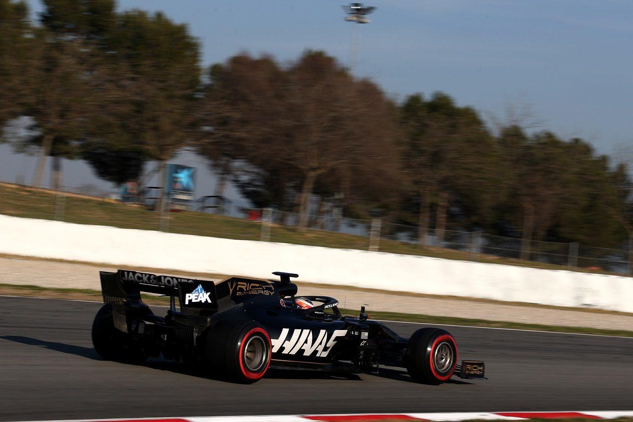 2019年第2回F1テスト2日目 ロマン・グロージャン(ハース)