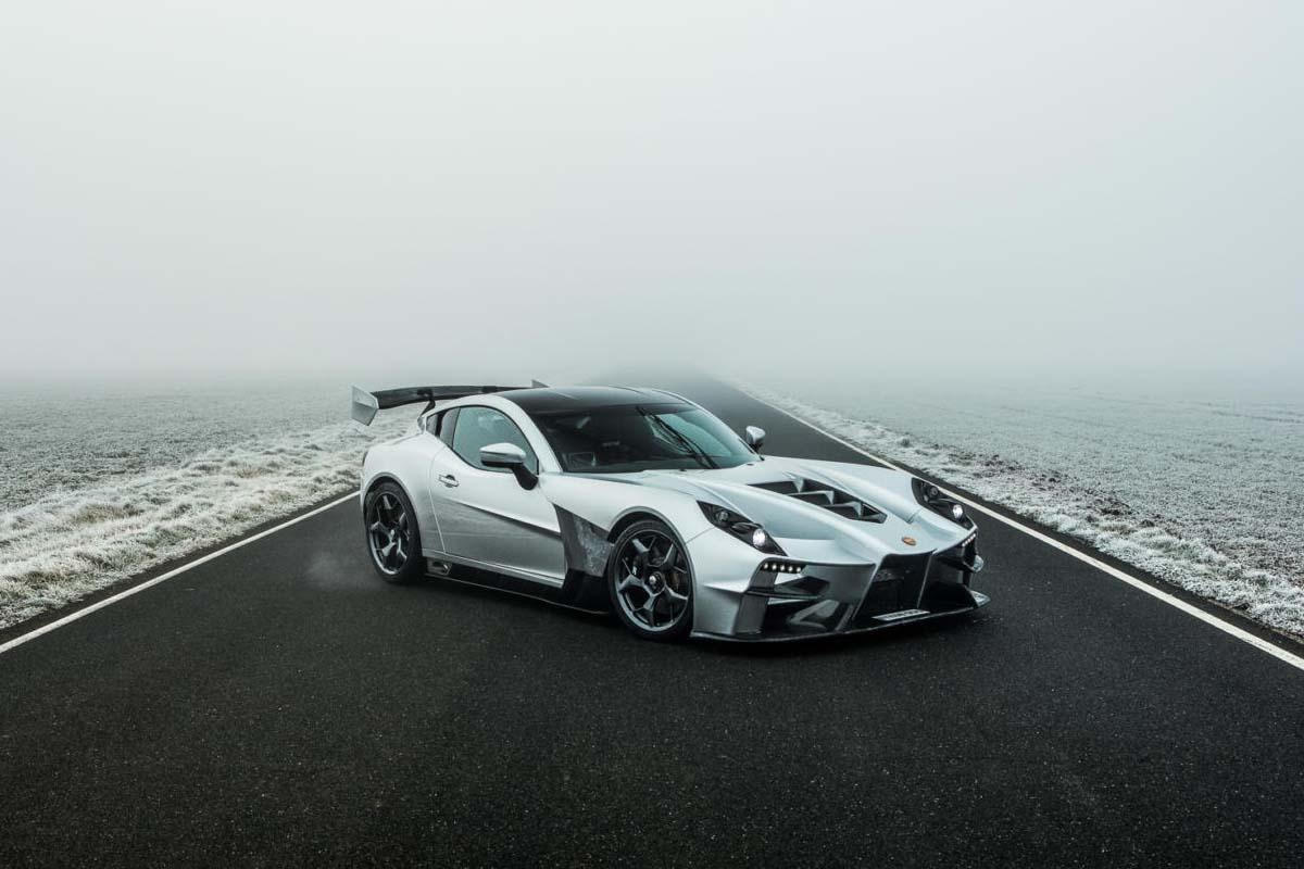 1150kgのボディに600馬力V8エンジン搭載。ジネッタ、新型ライトウエイトスーパーカーを発表