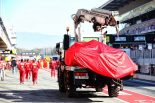 F1 | 原因不明のトラブルでクラッシュを喫したベッテル「正確に何が起きたのか理解する必要がある」