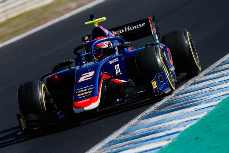 海外レース他 | 【FIA-F2テストデイ2・タイム結果】松下信治は総合14番手、ミック・シューマッハーは5番手に