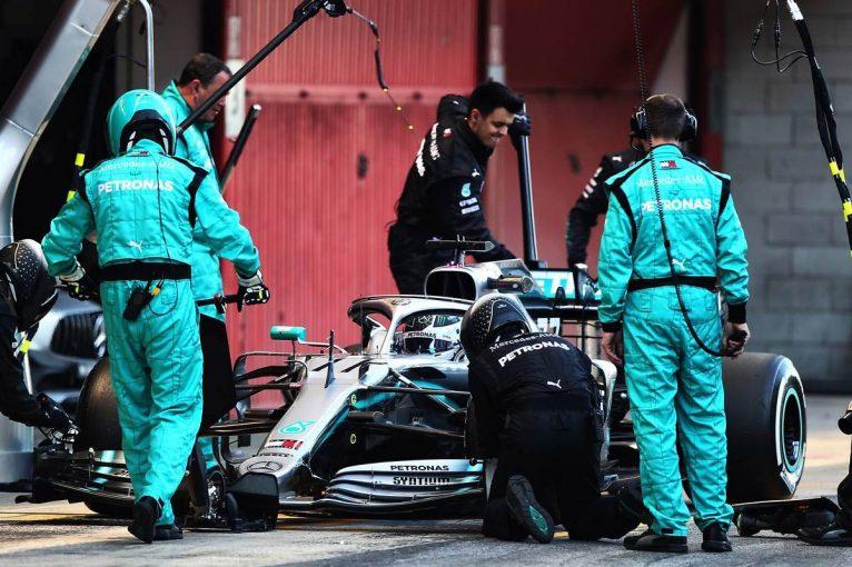 F1   ボッタス、メルセデスF1の進歩を実感も「フェラーリには強力なパッケージがある」とライバルを警戒