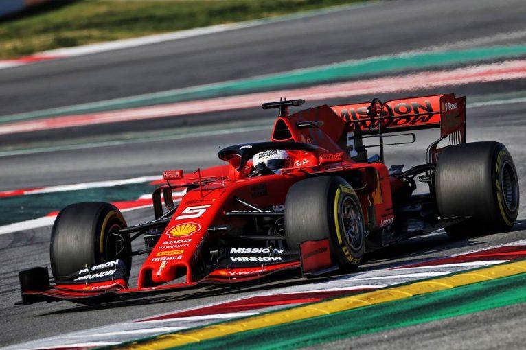 F1 | 【F1テスト2回目デイ4・午前タイム結果】トップタイムはベッテル、レッドブルのフェルスタッペンは8番手