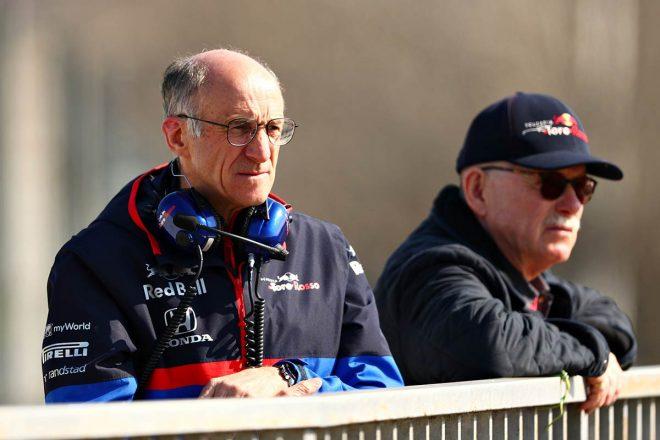 2019年F1バルセロナテスト2回目 トロロッソ・ホンダ フランツ・トスト代表