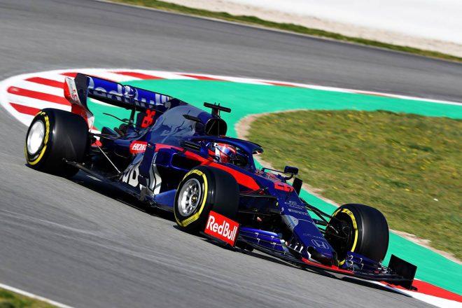 2019年F1バルセロナテスト2回目 ダニール・クビアト(トロロッソ・ホンダ)