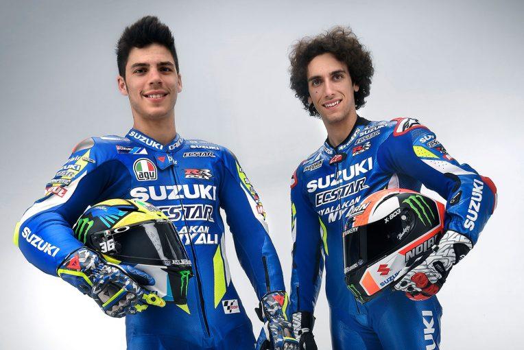MotoGP | MotoGP:マルケスを「倒せる方法が見つけられた気がする」。スズキライダーふたりに聞くマシンの現状