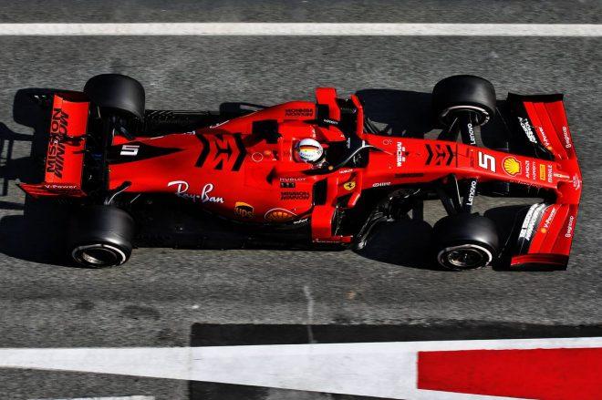 2019年F1バルセロナテスト2回目 セバスチャン・ベッテル