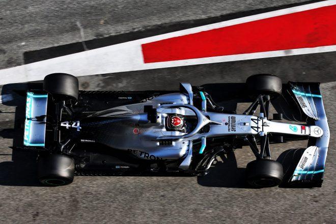 2019年第2回F1テスト4日目 ルイス・ハミルトン(メルセデス)
