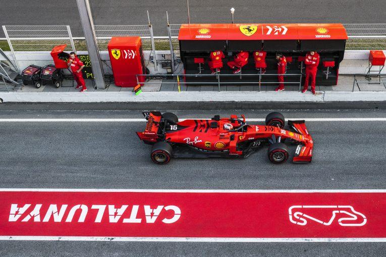 "F1   フェラーリF1代表、""フェラーリ優位説""を否定。「メルセデスが遅れを取るとは思わない」"